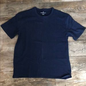 Men's NWT M oversized soft brushed navy blue tee